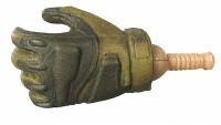 G.I. Joe: General Hawk - Left Gloved Gripping Hand