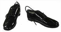 Triad: G4H Sniper Training Set - Loose  - Shiny Black Lace Up Shoes (For Feet)