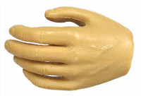 Muscular Male Caucasian: KP01A - Left Relaxed Hand