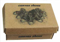 TTL - Loose - Canvas Shoes - Empty Shoebox 1:6 scale