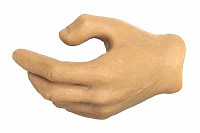 KP02 Caucasian - Left Gripping Hand