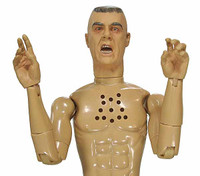 Gunnery Sgt. R. Lee Ermey - Nude Figure (Electronic Talking - R Rated)