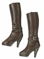 Dead Cell: Iris Branham - Tall Brown Leather Boots (Includes Joints)