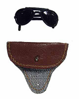 Carson: Air Force Pilot - Sunglasses Closed w/ Pouch