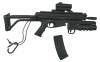G.I. Joe: Snake Eyes & Timber - XCR PDW Rifle