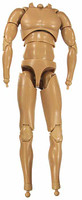 X-Series Nude: Caucasian Tan XT1 - Nude Body w/ Hand & Feet Joints