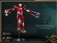 Hot Toys Iron Man 3: Mark XXXV Red Snapper Power Pose Boxed Figure