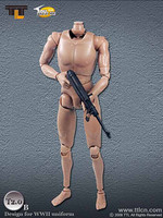 TTL - Male 2.0B Nude Body Set (No Head) (Weapon NOT Included)