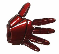 Iron Man 3: Tony Stark - Right All Red Armored Open Hand