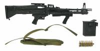 Navy SEALs Gunner - Machine Gun w/ Accessories