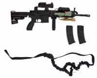 VH: CCT - Machine Gun w/ Accessories