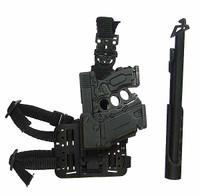 G.I. Joe Retaliation: Roadblock - Multi Component Pistol w/ Left Hand Holster & Baton (See Note) (Limit 2)