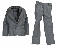 VC: Men's Suits - Grey Suit Coat & Pants