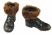 Iron Island: Jack-3 -Furry Top Boots w/ Ball Joints