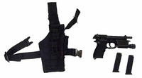 FBI Biochemical Weapons Expert - Pistol w/ Holster