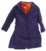 Buffoon Costume Set - Purple Over Coat