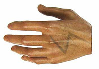 The Lone Ranger: Tonto - Left Relaxed Hand