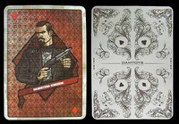 Gangster Kingdom: Diamond 2 - 1:1 Scale Playing Card