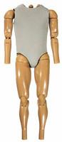 Dark Knight: Batman Armory - Alfred Nude Body w/ Padded Vest