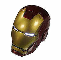 Iron Man 3: Workshop - Clean Mark VII Helmet (Ball Socket)