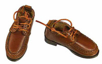 Fringe: Walter Bishop - Brown Lace Up Shoes (For Feet)