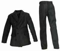 Fringe: Walter Bishop - Double Breasted Pinstripe Suit Coat & Pants