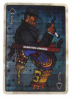Gangster Kingdom: Spade J Memories Version - 1:1 Scale Playing Card