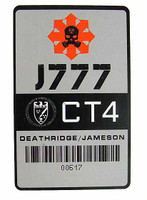 ZERT Jameson Youngblood Deathridge - 1:1 Replica CAC Card