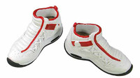 Dennis Rodman - White Basketball Shoes (Ball Socket)