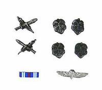 Moshe Dayan - Insignia  Medals (Metal)