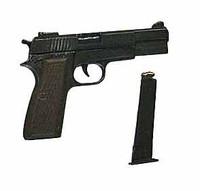 Moshe Dayan - Pistol (Metal)