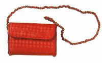 Women's V Neck Dresses - Red Purse