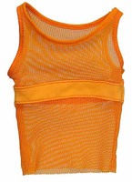 Fighter - Orange Tank Top Shirt
