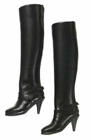 POP Toys: Modern Women Leather Suit Set - Boots (Ball Joints)