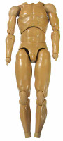 Armored Shadow Ninja - Nude Body w/ Hand Joints
