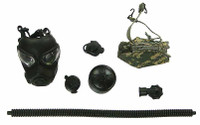 US Army Pilot Aircrew - Gas Mask w/ Accessories