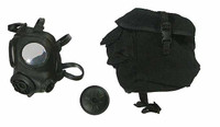 J Sir: Police Tactical Unit - Gas Mask w/ Pouch