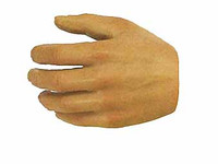 HT Star Wars: A New Hope: Han Solo - Left Bare Open Grip Hand