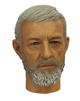 HT Star Wars: A New Hope: Ben Kenobi - Head (No Neck Joint)
