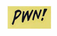 Marvel Comics: Deadpool - Sticker PWN!