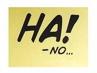 Marvel Comics: Deadpool - Sticker Ha! No