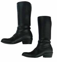 Cowboy B - Tall Black Boots w/ Ball Joints