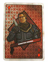 Gangster Kingdom: Diamond IV - 1:1 Scale Playing Card