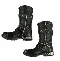 Gangster Kingdom: Diamond IV - Biker Boots w/ Ball Joints