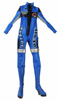 Racing Girls - Blue Suit w/ Ball Joint Feet (Non Removable)