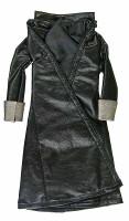 Van Helsing (Phicen) - Black Leather Over Coat