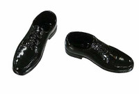 Comedy King of France - Black Patent Shoes (For Feet)