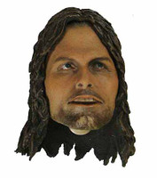 Aragorn (Asmus) - Head w/ Open Mouth