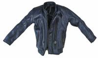 Chemical Poisoning Partner - Blue Leather Like Jacket