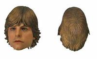 HT Star Wars: A New Hope: Luke Skywalker - Head w/ Alternate Helmet Hair (Limit: 1)